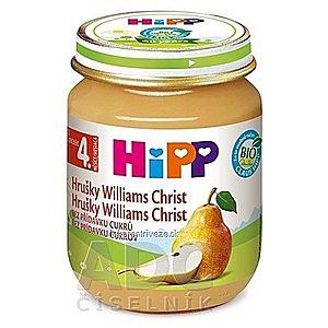 HiPP Príkrm ovocný Hrušky Wiliams-Christ (od ukonč. 4. mesiaca) 1x125 g vyobraziť