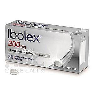 Ibolex 200 mg tbl flm (blis.PVC/PVDC/Al-priehľad.) 1x20 ks vyobraziť