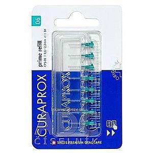 CURAPROX CPS 06 prime refill tyrkysová medzizubné kefky bez držiaka 1x8 ks vyobraziť