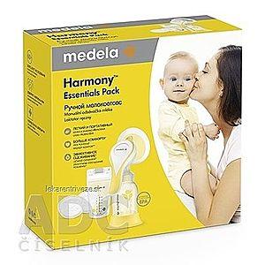 MEDELA Harmony Essentials Pack manuálna odsávačka + cumlík 1ks, vrecko na mlieko 4ks, vložky do podprsenky 4ks, 1x1 set vyobraziť