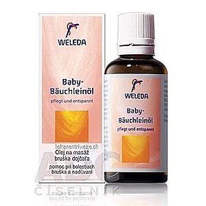 WELEDA Olej na masáž bruška dojčaťa (Baby-Bäuchleinöl) 1x50 ml vyobraziť
