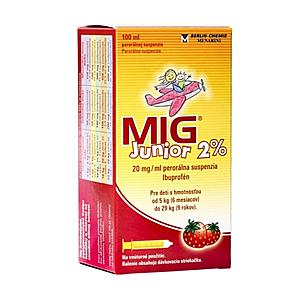 MIG Junior 2% 100 ml vyobraziť