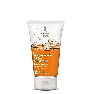 WELEDA 2v1 Sprchový krém a šampón 150 ml vyobraziť