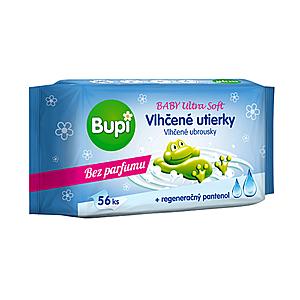 BUPI Baby vlhčené utierky Ultra soft 56 kusov vyobraziť