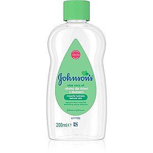Johnson's® Care olej s aloe vera 200 ml vyobraziť