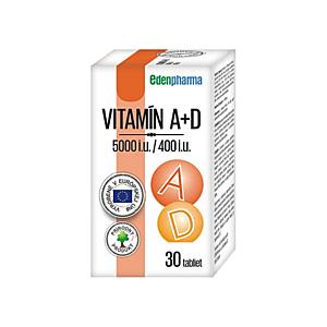EDENPHARMA Vitamín A + D 30 tabliet vyobraziť