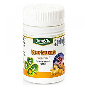 JUTAVIT Kurkuma + vitamín E 60 tabliet vyobraziť