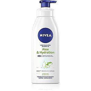 Nivea Aloe Hydration ľahké telové mlieko s aloe vera 400 ml vyobraziť