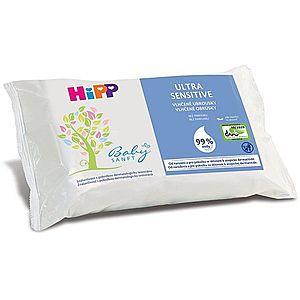 Hipp Babysanft Ultra Sensitive vlhčené čistiace obrúsky pre deti bez parfumácie 52 ks vyobraziť